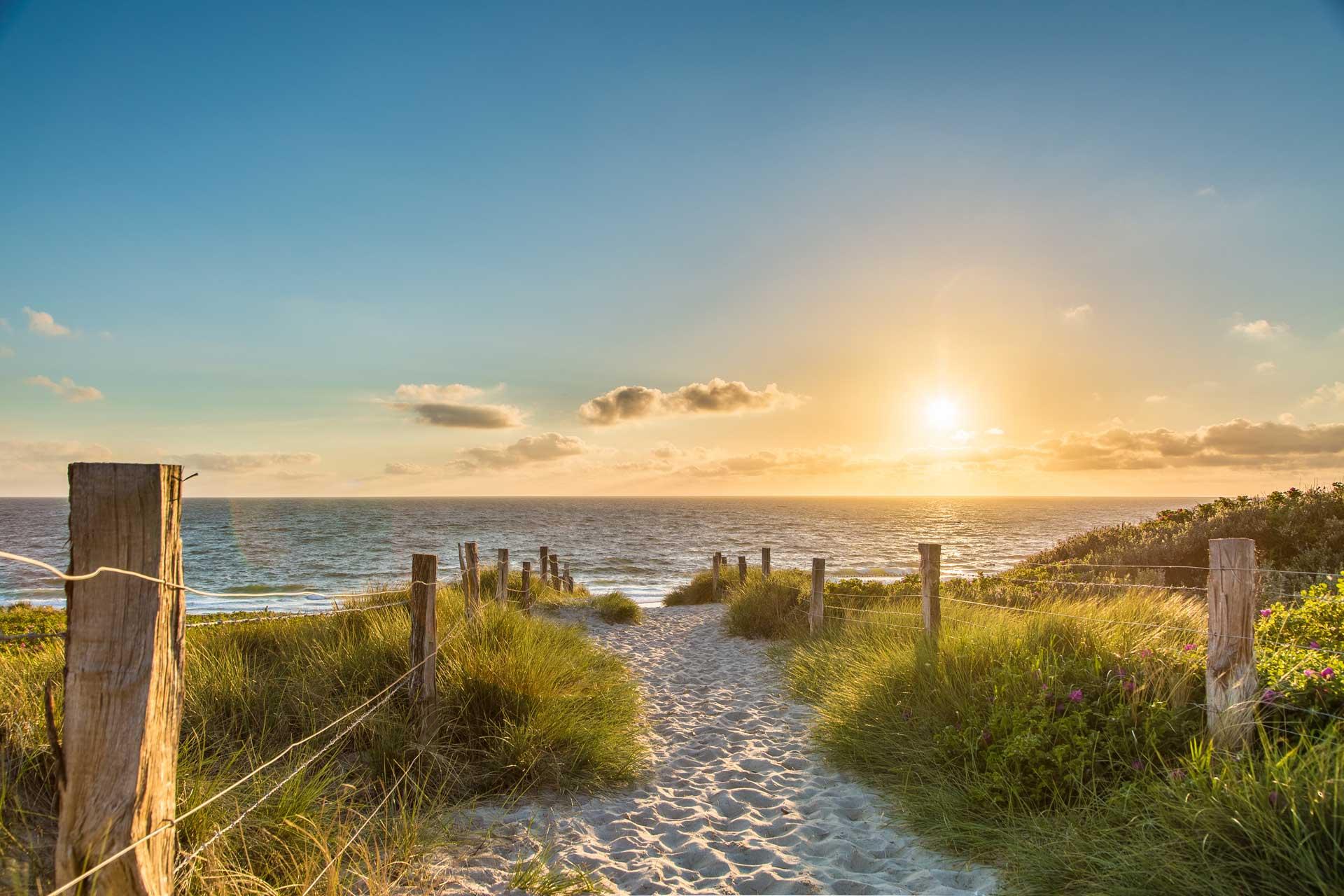 Ostsee Strandaufgang